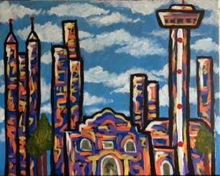 Alamo City Skyline