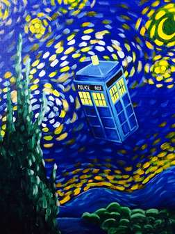 Dr. Who Visits Van Gogh