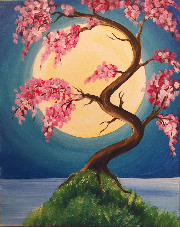 japanese spring - Fun Pictures To Paint