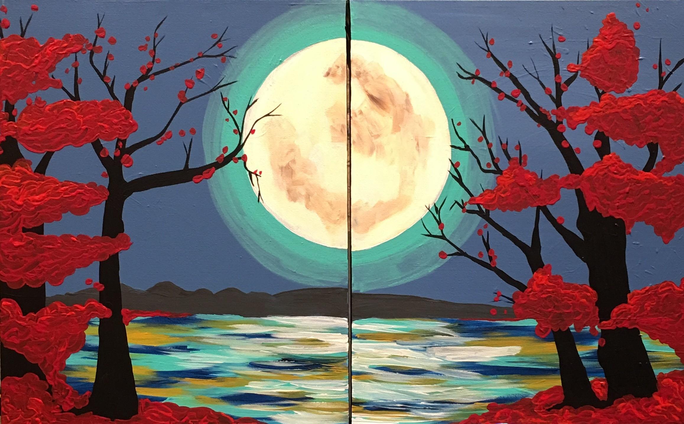Japanese Moon Garden