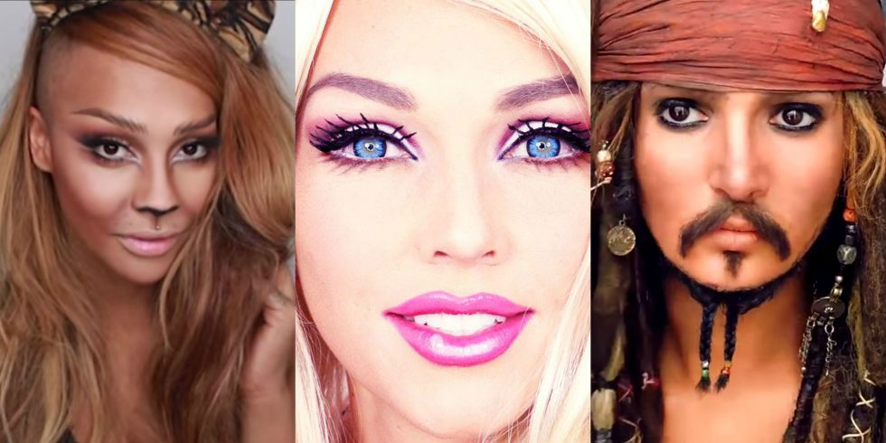 33+ Easy Halloween Makeup Tutorials from Good Housekeeping