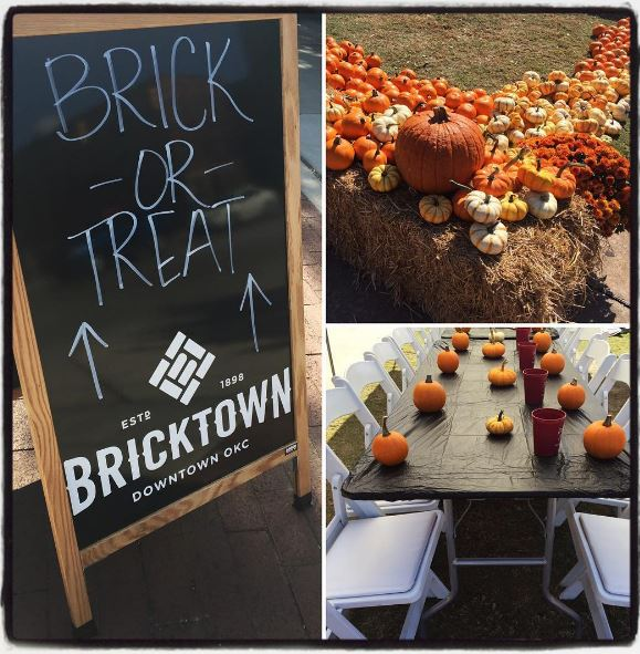 Bricktown trick or treating