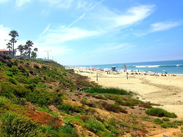 Carlsbad beach San Diego