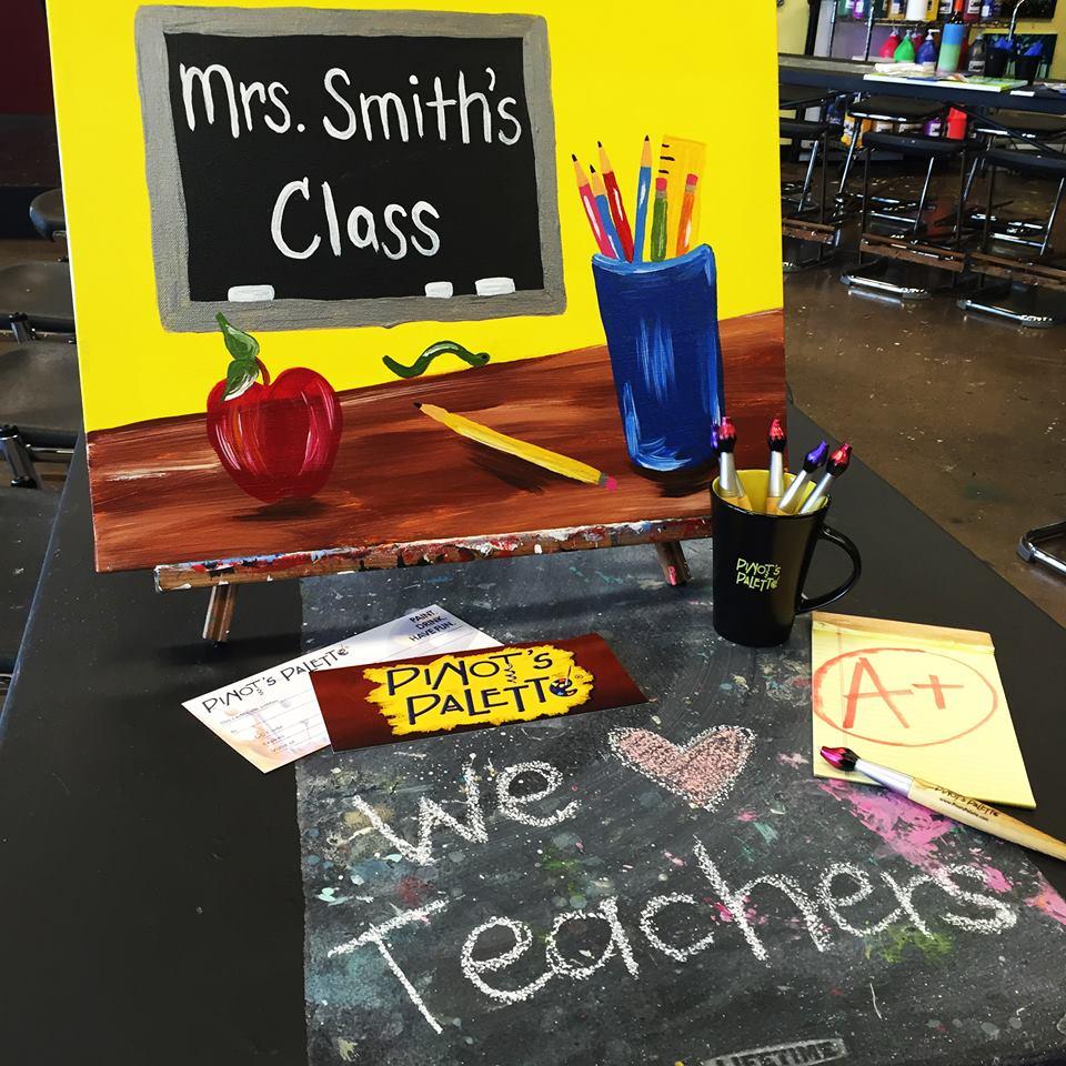 We love teachers!