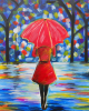 "Painting - ""A Walk in the Rain"""
