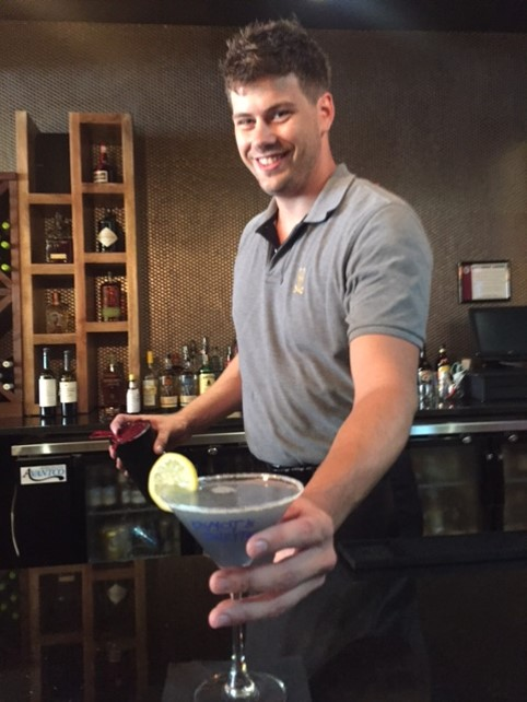 Dusty & his Logan Square Paint Water Martini