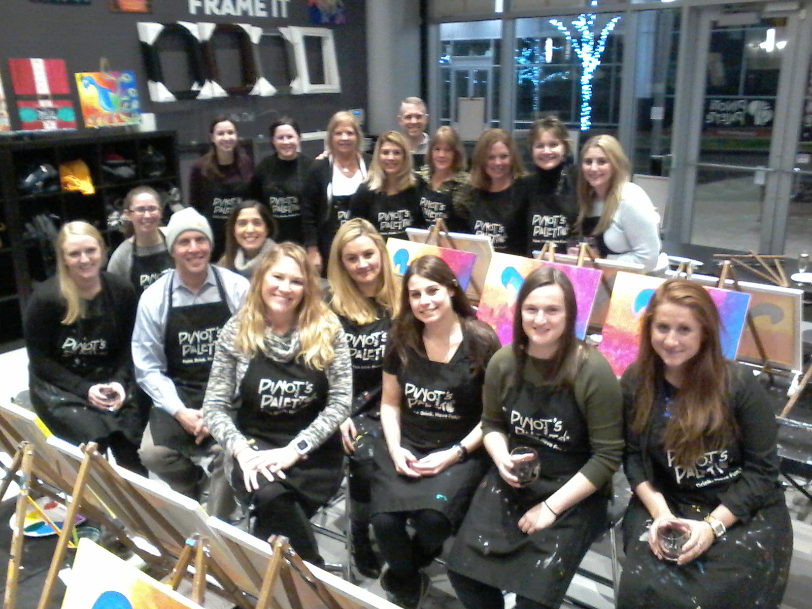 Team Building Events at Pinot's Palette-Mamaroneck