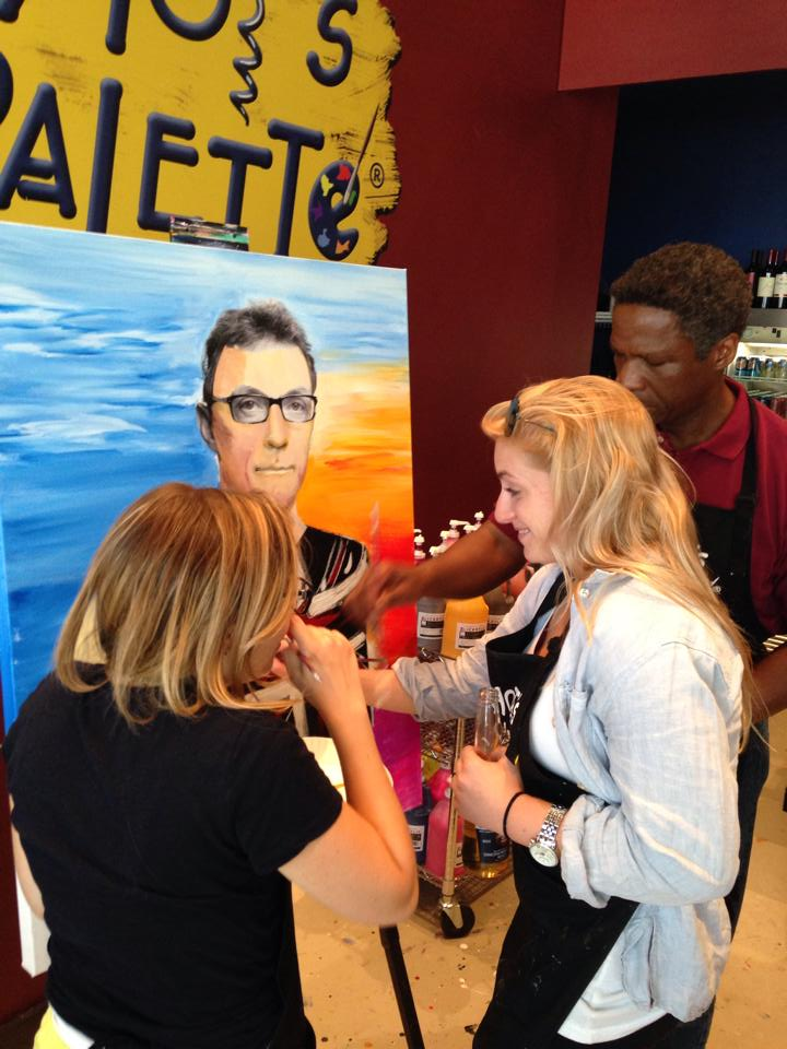 Paint Your Boss at Pinot's Palette-Mamaroneck!