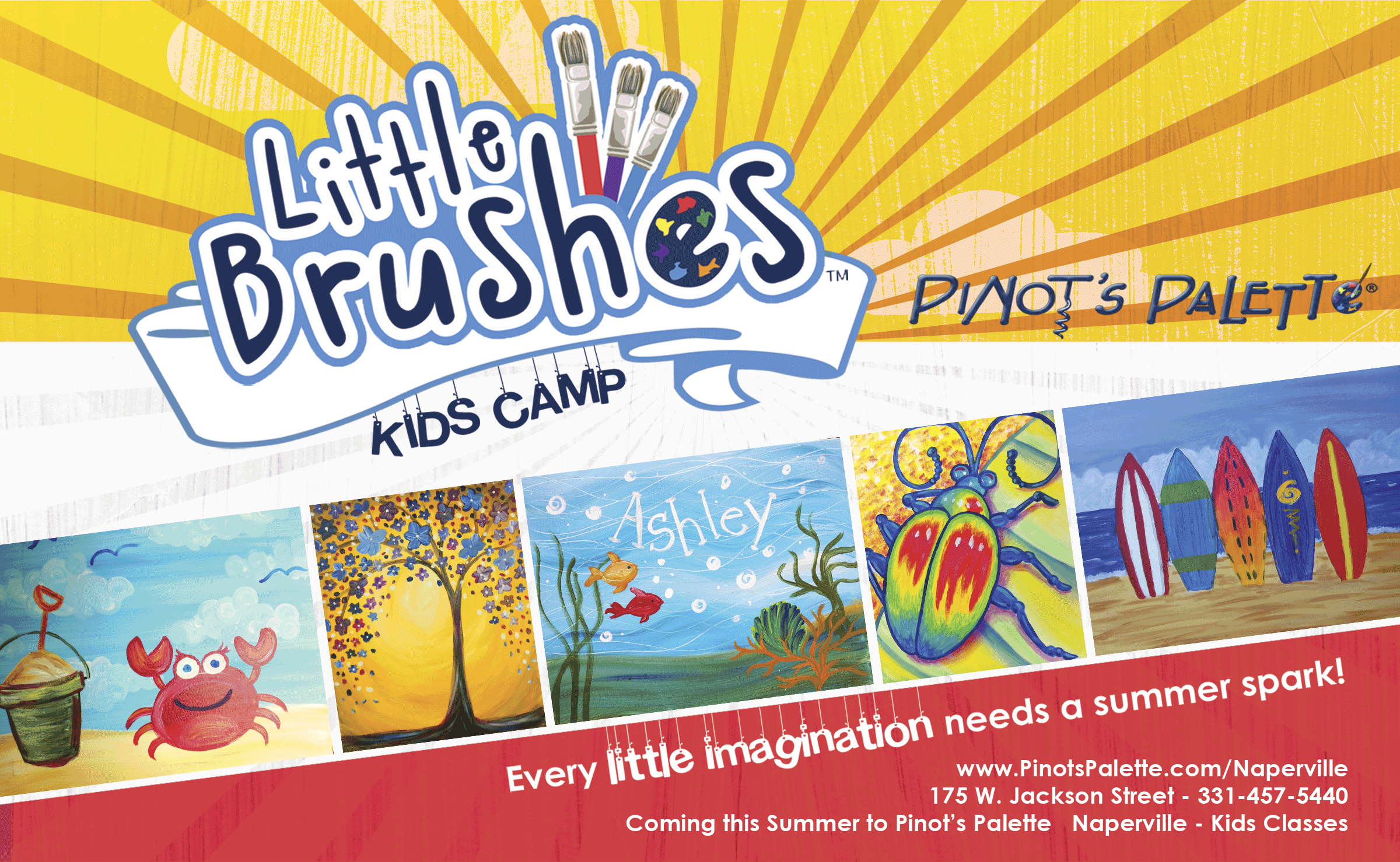 Summer Camp at Pinot's Palette