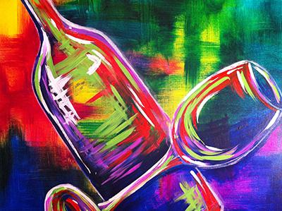 wild wine night pinots palette girls night out fun painting