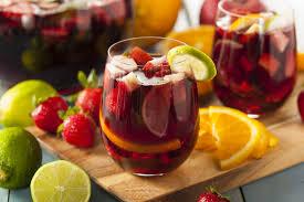 Sangria recipes red white strawberry classic wine