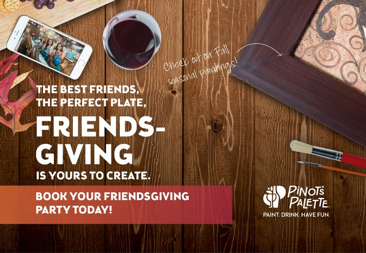 Friendsgiving poster