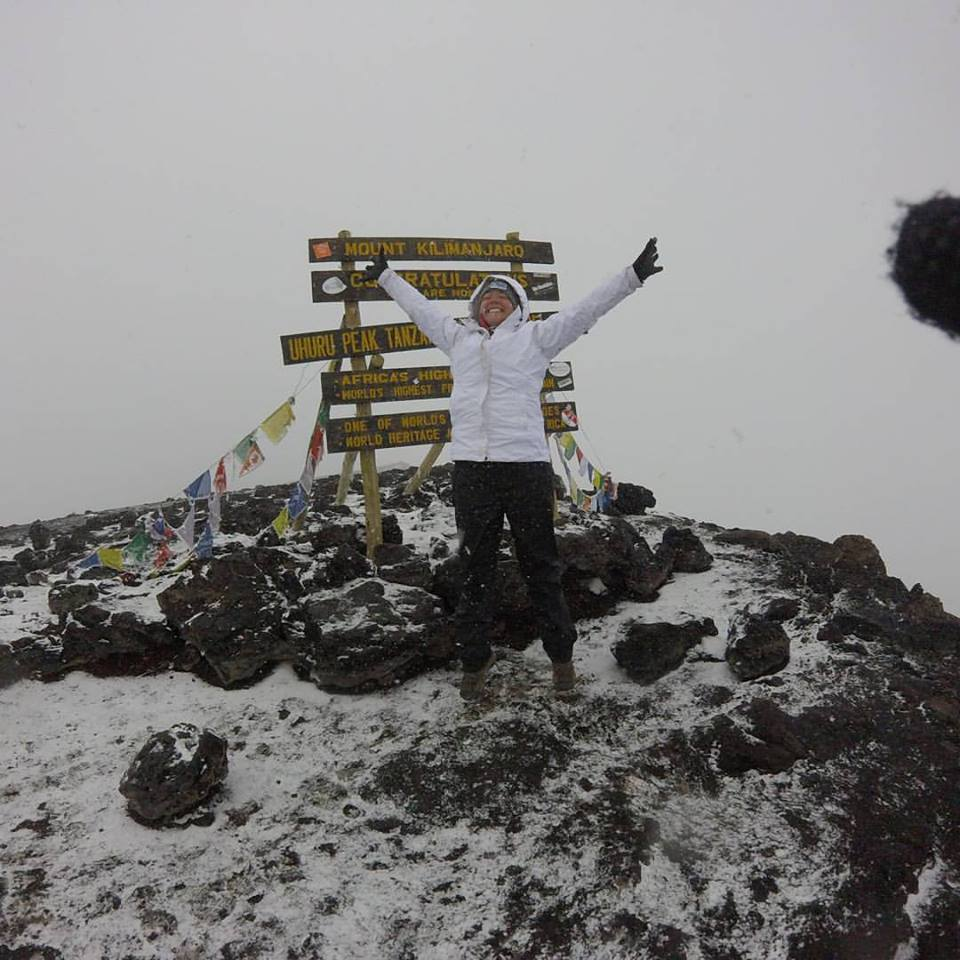 Tori at the top!!