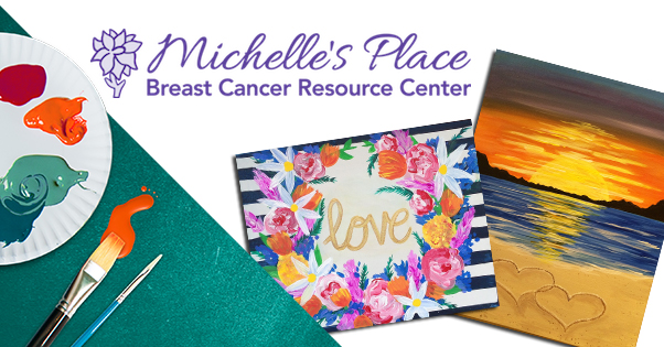 Paint and sip supporting Michelle's Place