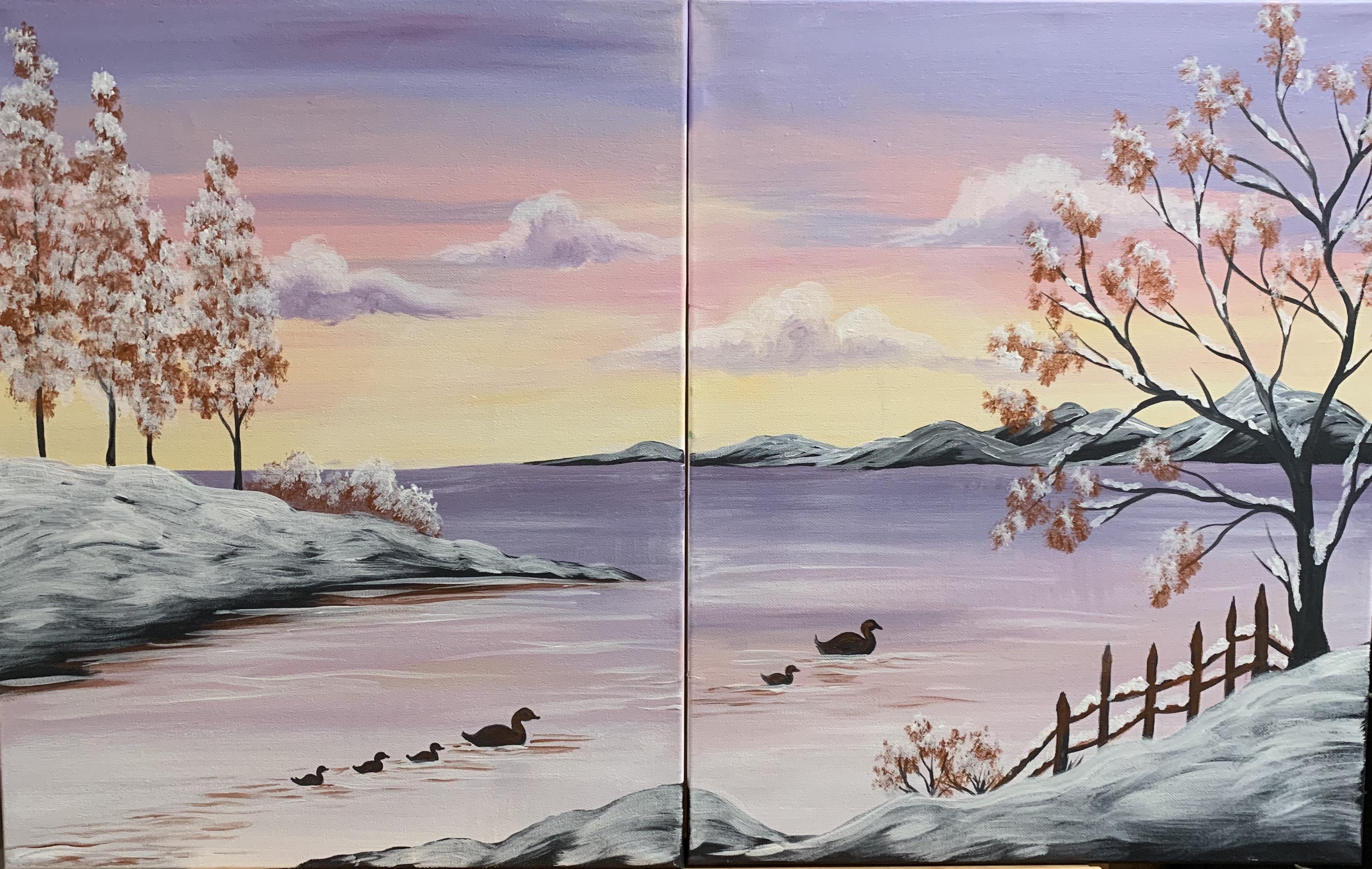 1b5d8fa6cb97 https://www.pinotspalette.com/painting/twilight-walk-on-the-beach ...