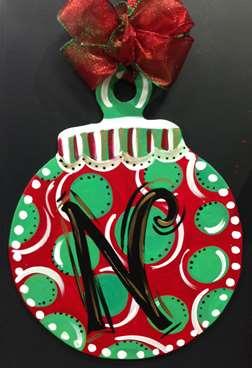 Custom Door Hanger - Ornament