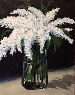 Edward Manet's Lilacs in a Vase