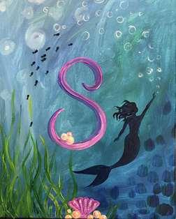 Mermaid Monogram