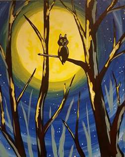 Moonglow Owl
