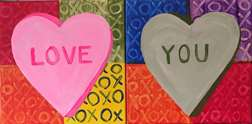 Personalized Candy Hearts