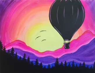 Sunset Balloon Ride