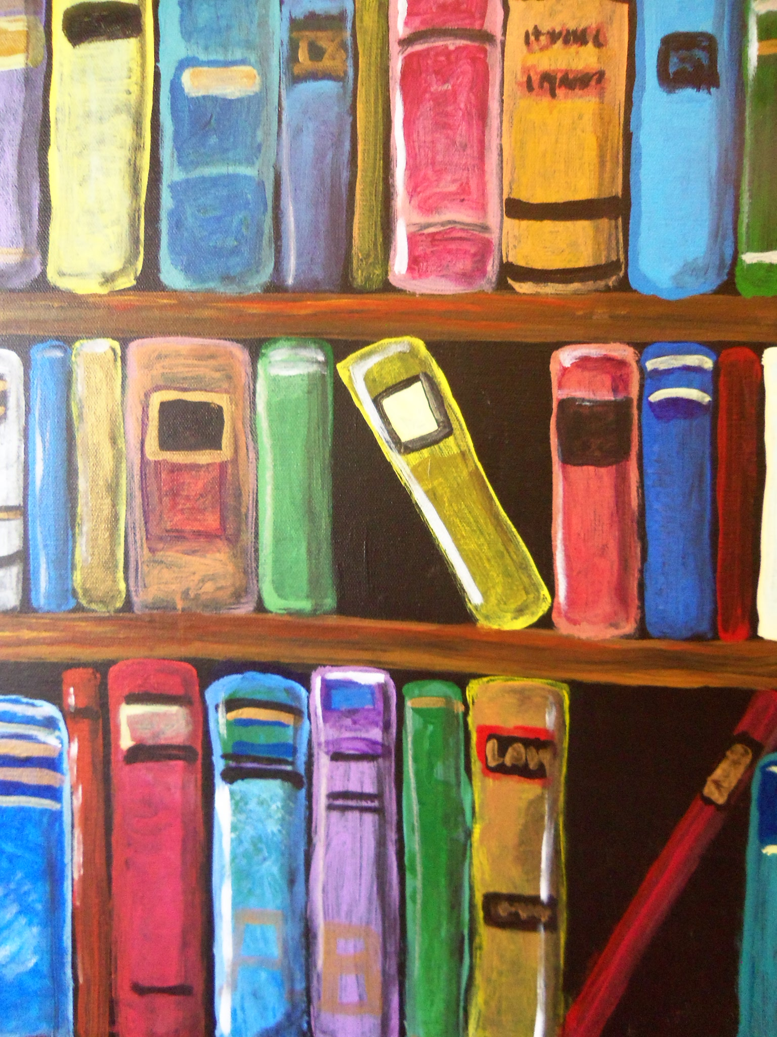 the library pinot 39 s palette painting