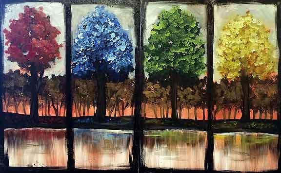 a tree for all seasons - wayne woodruff photography