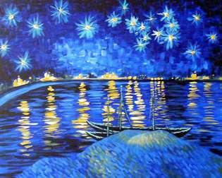 Van Gogh's Starry Night Over the Rhone