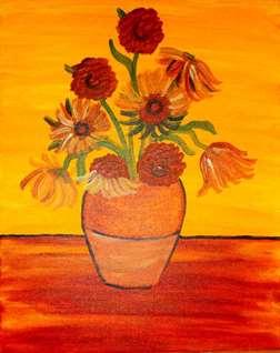 Van Gogh's Sunflower